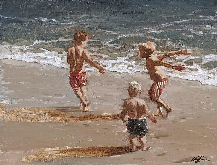 3 Boys at the Beach