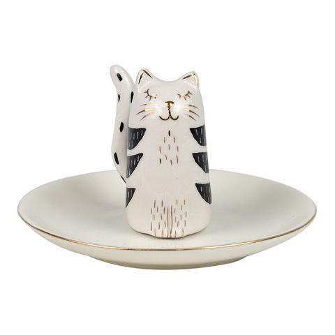 Cat Trinket Plate