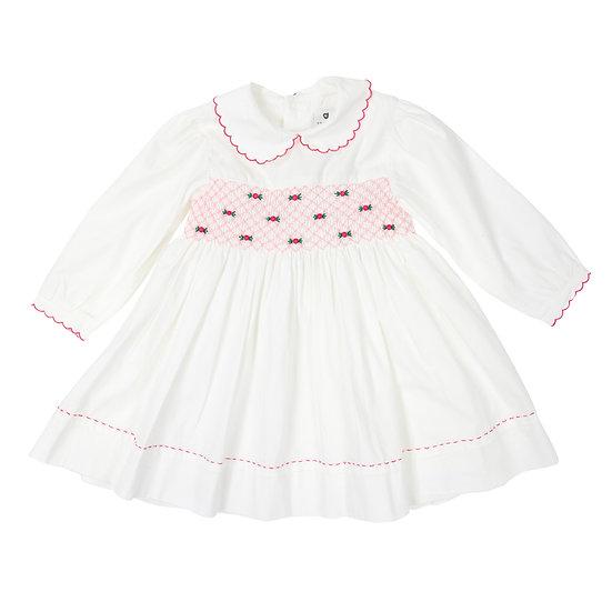Polka Smocked Dress