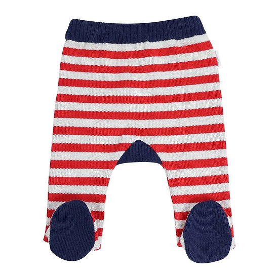 Stripe Knit Legging
