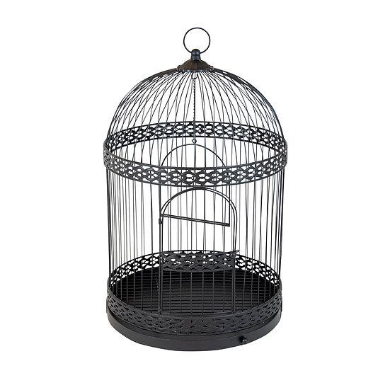 Gallant Matt Black Metal Bird Cage