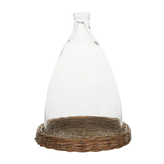 Fiji Glass Cloche Large Clear