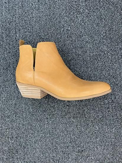 Mustard side split boot