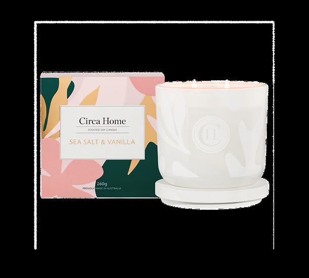 Circa Home Candle - Sea Salt & Vanilla