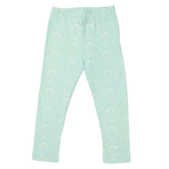 Mint unicorn leggings