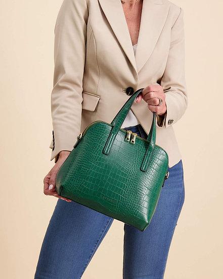 Candice Top Handle Bag Green