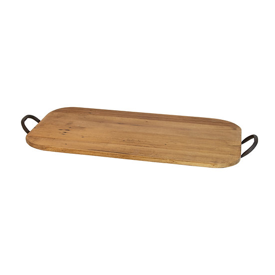 Orlando Recycled Pine Oval Tray Large