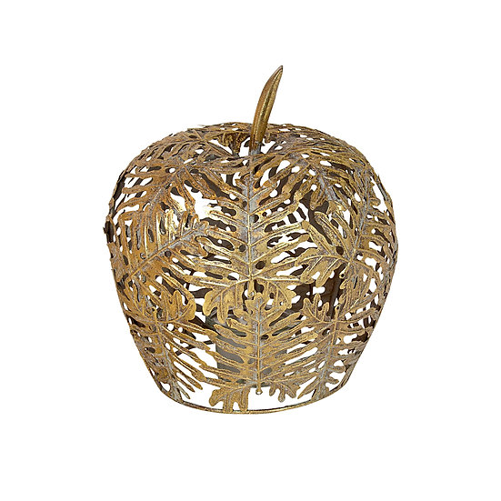Putin Metal Gold Leaf Apple