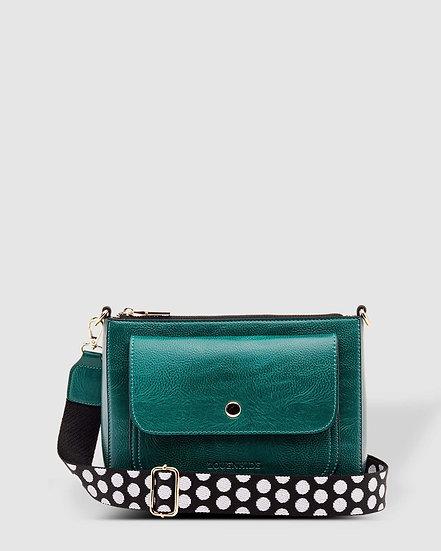 Victoria Green Crossbody Bag