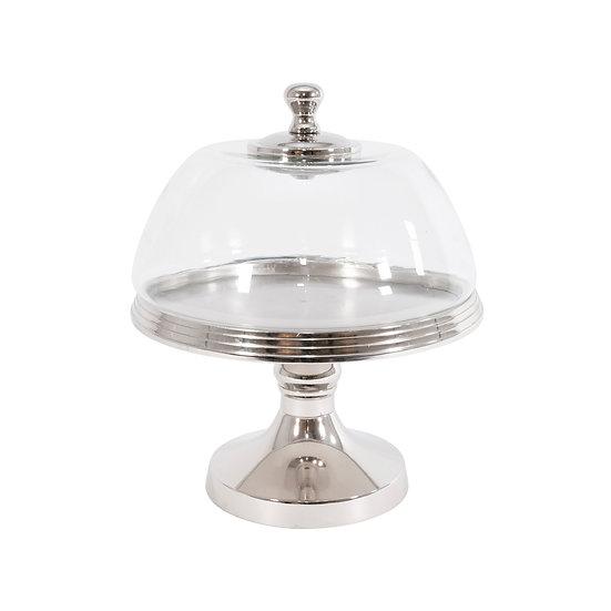 Coolridge Aluminium Glass Pedestal Small