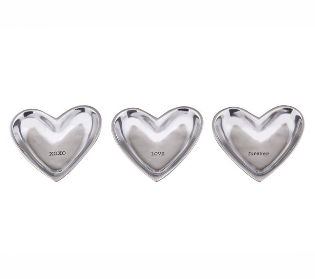 Love Heart Trinket Plate 3 Asst Designs