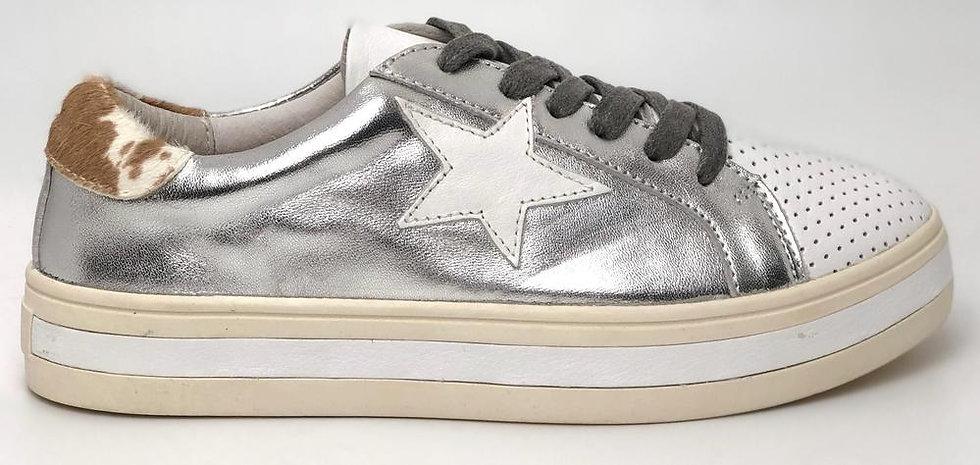 Pixie Sneaker Silver White