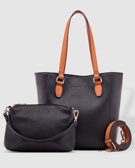 Rachel Black Tote Bag