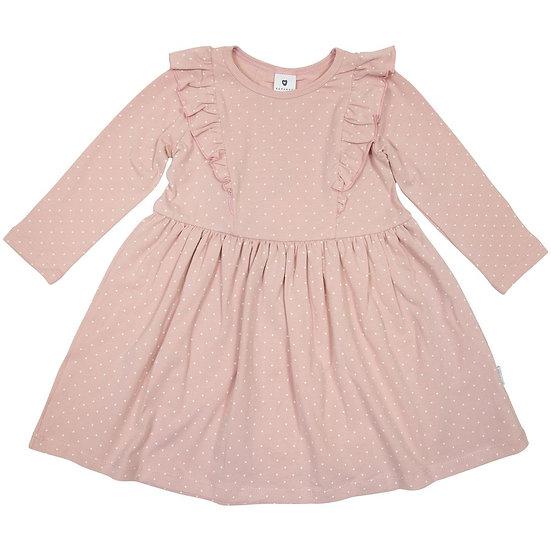 Girl Polka Frill Dress