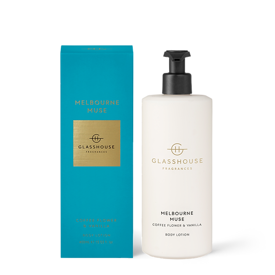 Glasshouse Body Lotion, Melbourne Muse - Coffee Flower & Vanilla
