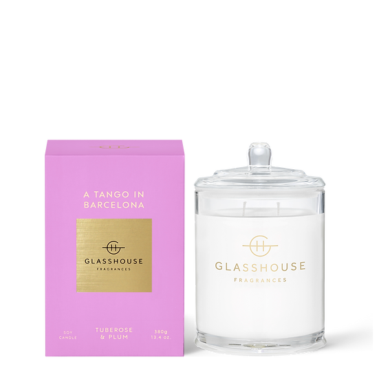 Glasshouse, A Tango in Barcelona - Tuberose & Plum