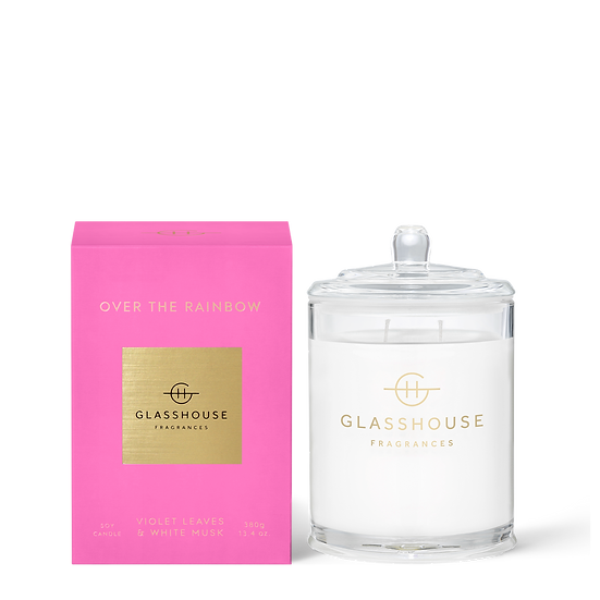 Glasshouse, Over the Rainbow - Violet Leaves & White Musk