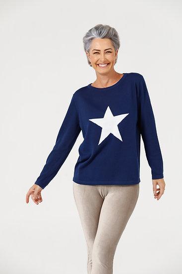 Petra Star Knit