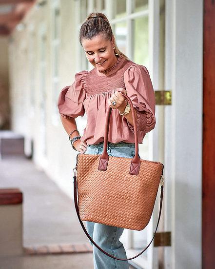 Elsa Shopper Bag Nutmeg