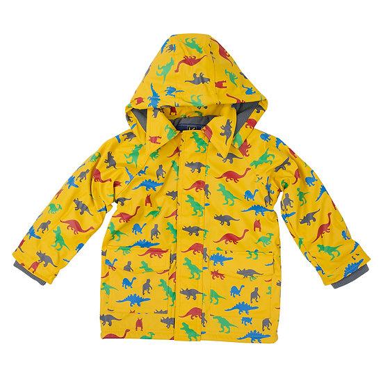 Mustard Jurassic Raincoat