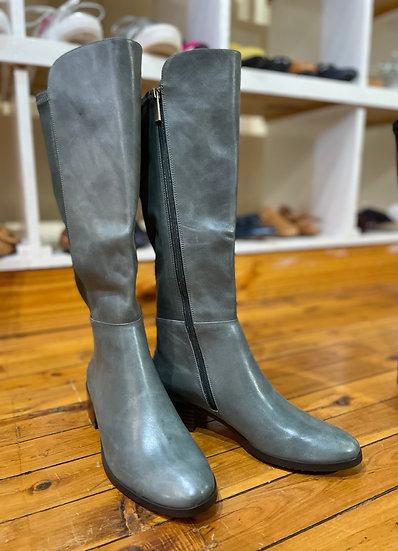 Green tall boots