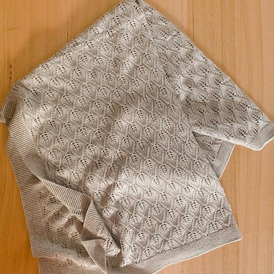 Valerie Knitted Blanket Grey