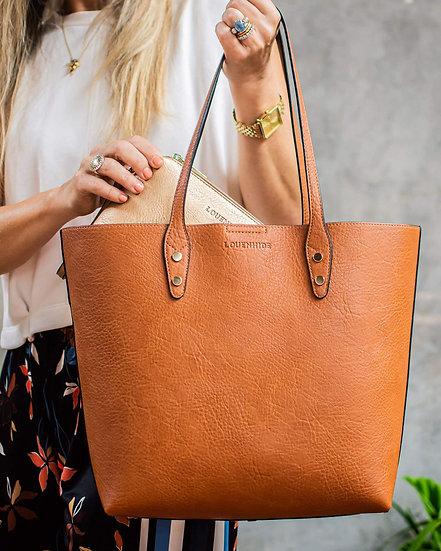 Dakota Tote Bag Tan