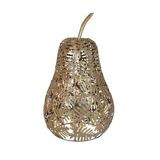 Putin Metal Gold Leaf Pear