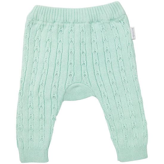 Mint Fine Cable Knit Legging