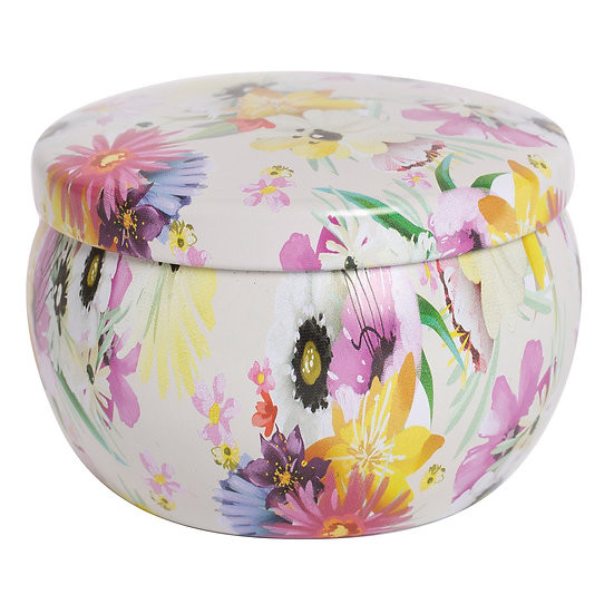 Dreamy Tin Soy Candle - Cactus Flower