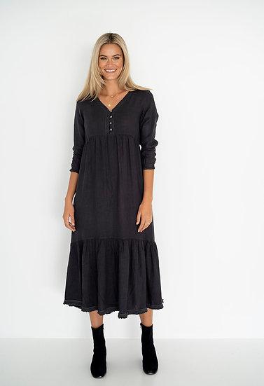Charcoal Nina Dress