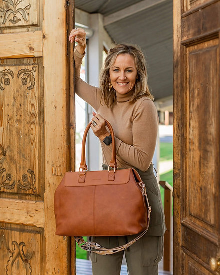 Tuscan Overnight Bag Tan