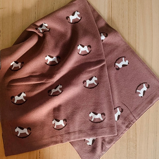 Pony Blanket Plum
