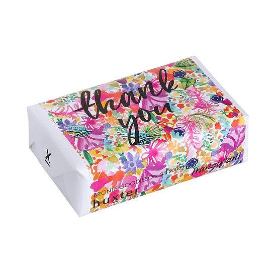 Floral Pattern Thank you - Frangipani