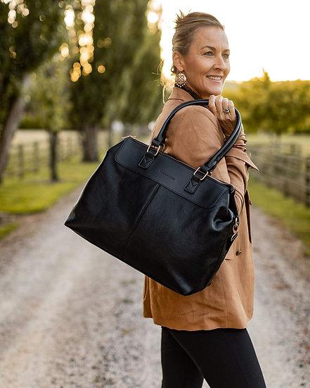 Tuscan Overnight Bag Black