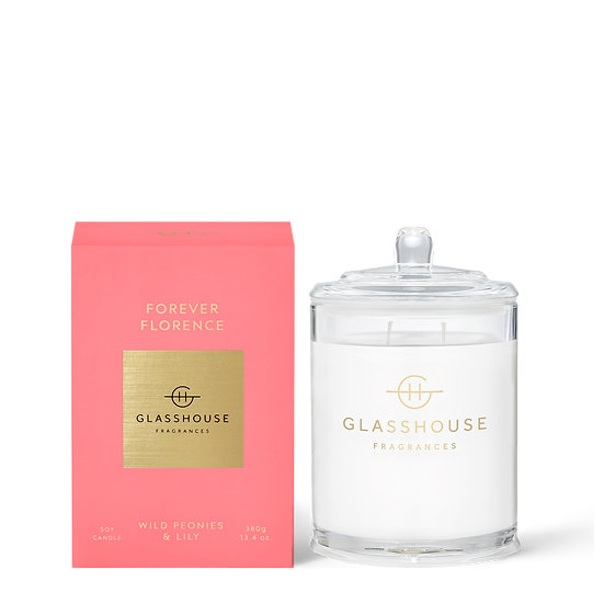 Glasshouse, Forever Florence - Wild Peonies & Lily