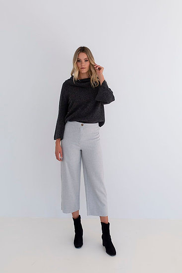 Stella Sweater - Charcoal