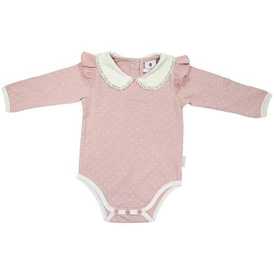 Baby Polka Cotton Bodysuit