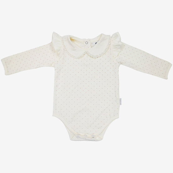 Baby Polka Cotton Body Suit