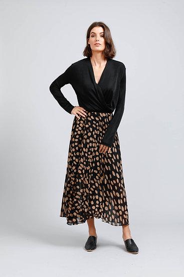 Atlas Pleated Skirt