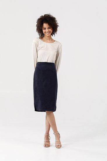 Beverly Skirt - Midnight Blue