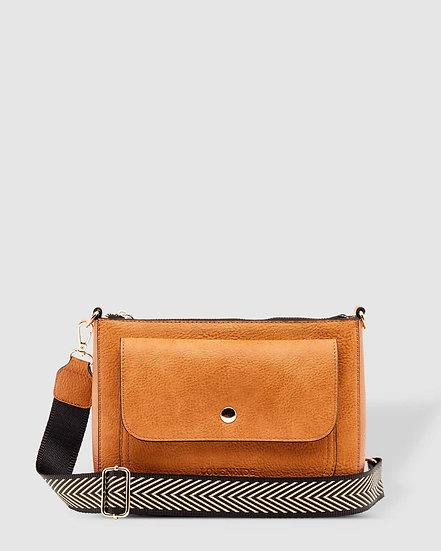Victoria Nutmeg Crossbody Bag