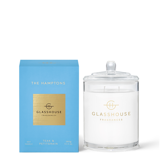 Glasshouse, The Hamptons - Teak & Petitgrain