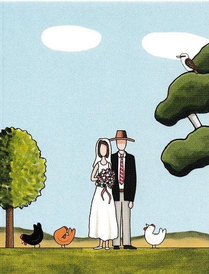 A Bush Wedding, Gift Card