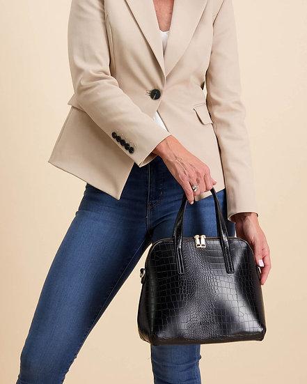 Candice Top Handle Bag Black