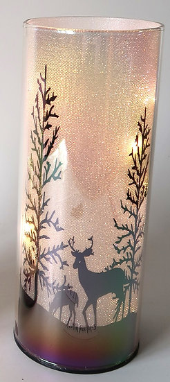 Dome Deer Grazing 8x20cm