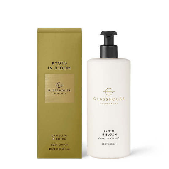 Glasshouse Body Lotion, Kyoto in Bloom - Camellia & Lotus