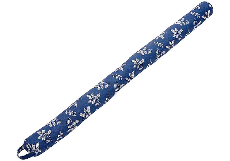 Repose Floral Navy Draught Excluder