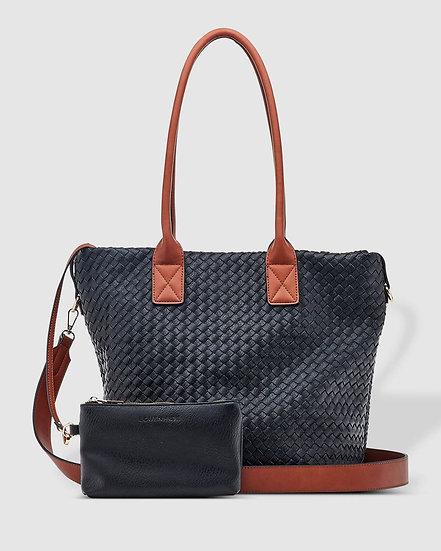 Elsa Shopper Bag Black