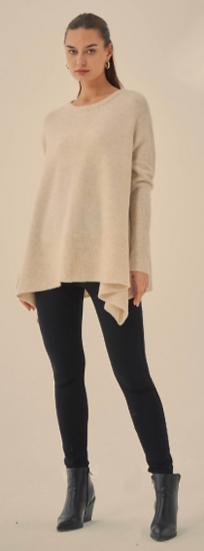 Drop Side Knit